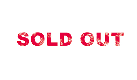 sold out かすれ
